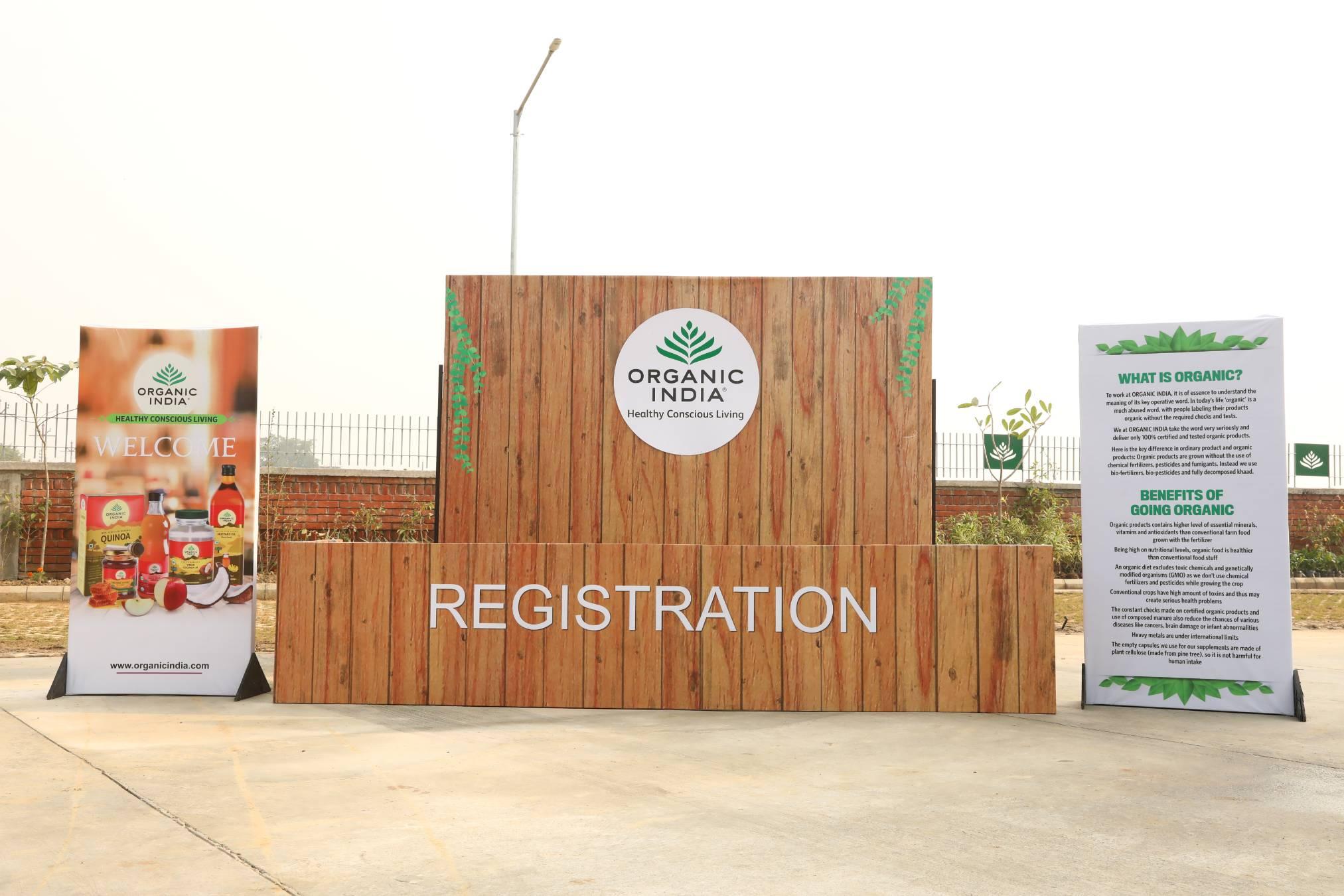 organic india factory launch